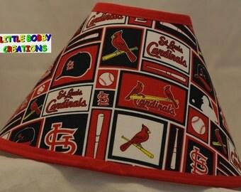 Baseball MLB St Louis Cardinals Fabric Lamp Shade (10 Sizes To Choose From!)