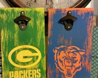 Bears Bottle opener sign