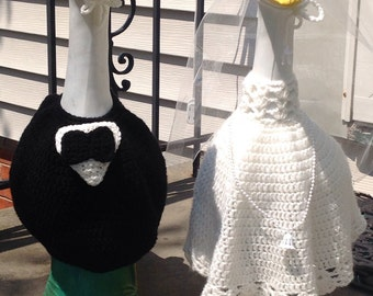 Bride & Groom Goose Outfits
