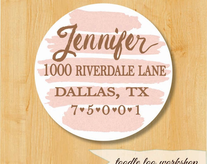 Watercolor Labels | Save the Date Stickers | Bridal Stickers | Wedding Sticker Labels | Wedding Stickers for Favors