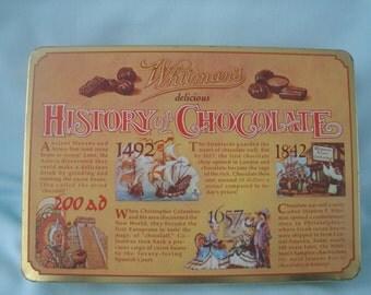 Whitmans Chocolate Tin/History of Chocolate Tin/Candy Tin