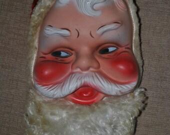 Santa head with zip storage