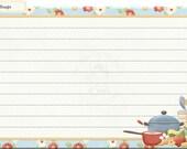 Recipe cards 6 - 10 - digital