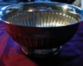Bowl, Vintage, Large, Silverplate, Towle