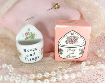 Vintage Ring Holder Clearance