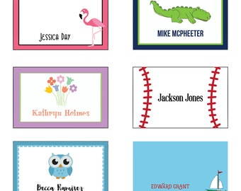 Personalized Gift Enclosure Cards- Digital File