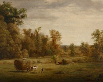 "Jacob Cox : ""Sherman's Meadow"" (undated) - Giclee Fine Art Print"