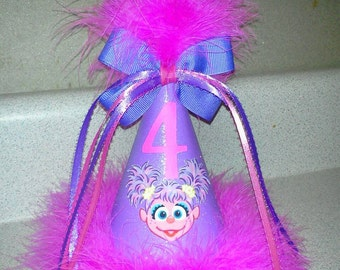Sesame street Abby cadabby  party hat party supplies