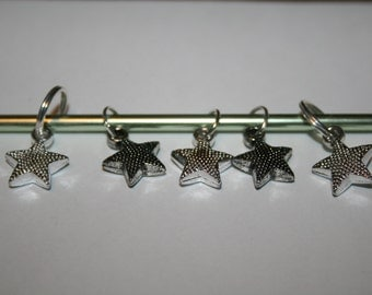 Knitting Stitch Markers Set of 5
