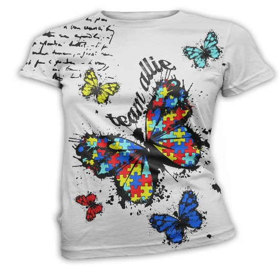 Team allie custom autism awareness t shirts by inkandrags for Custom team t shirts