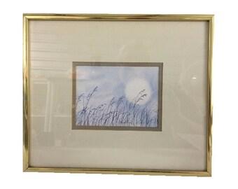 """Framed Print, """"Moonshine"""" by D. Morgan, Vintage"""