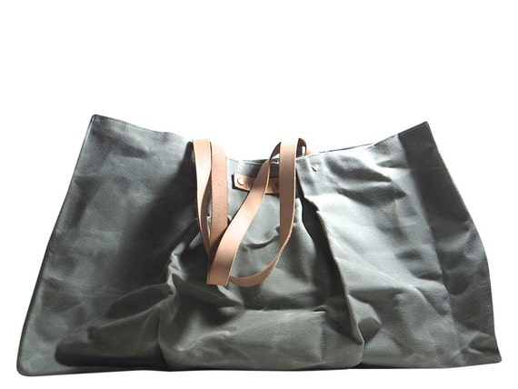 Unique Items Similar To Waxed Canvas Tote Bag Women39s Shoulder