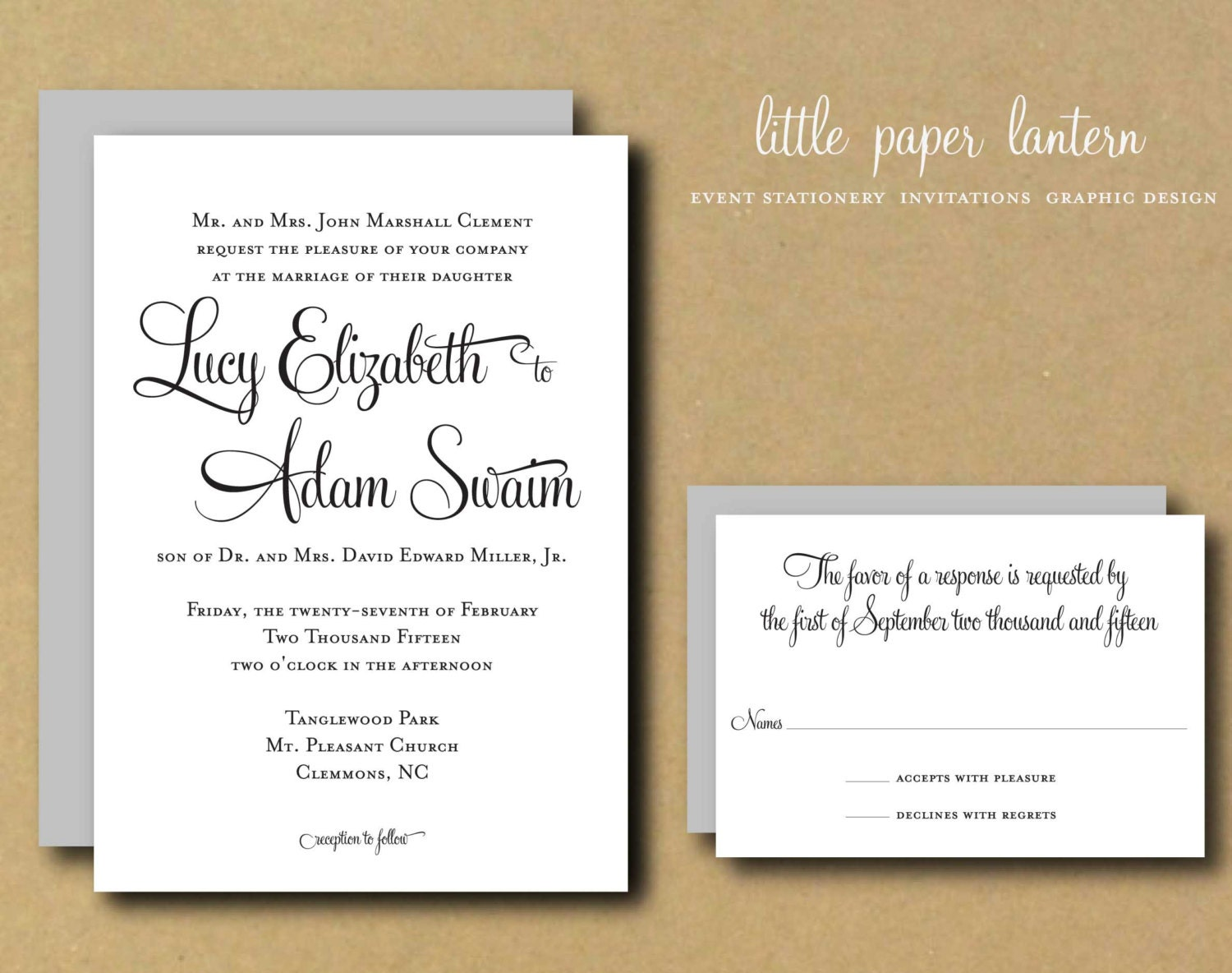 free printable personalized wedding invitations - 28 images ...