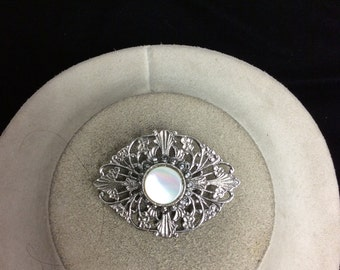 Vintage Mother Of Pearl Pin