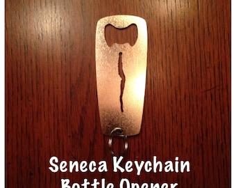 Seneca Keychain Bottle Opener