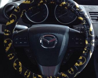 Batman Steering Wheel Cover