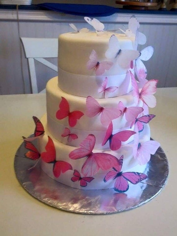 Butterfly Cake Toppers Baby Shower : Butterfly birthday cake toppers. butterfly baby by ...