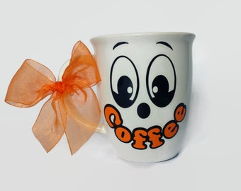 Beautiful Coffee Smile/ Coffee mug/ personalized mug/ vinyl mug