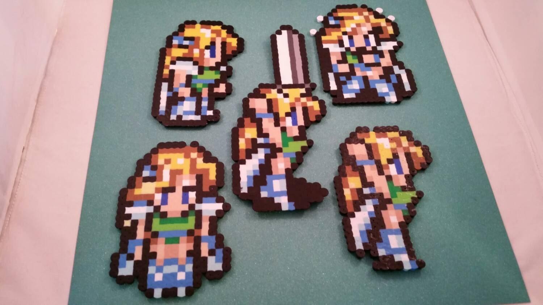Final Fantasy VI/Final Fantasy III US perler bead sprite