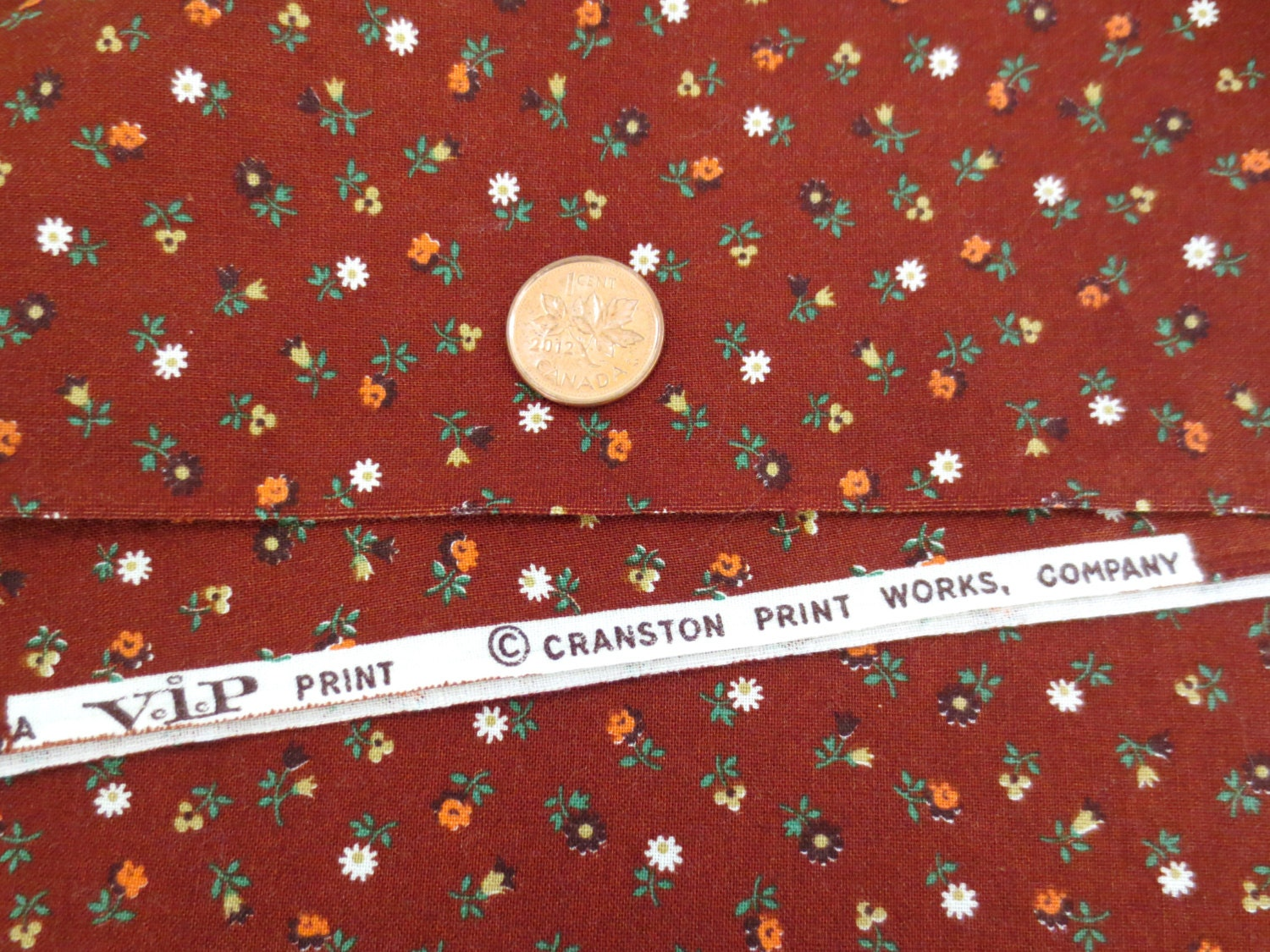 Cranston Print Works Floral Fabric By-The-Piece 100% Cotton