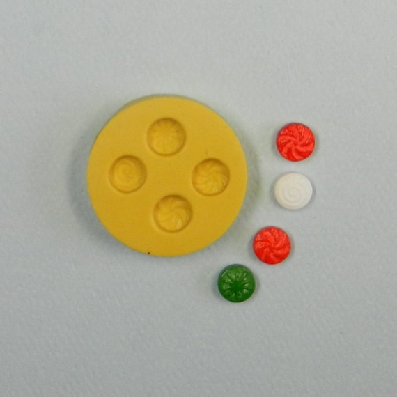 MINIATURE CANDY Mold for jewelry making resin polymer clay