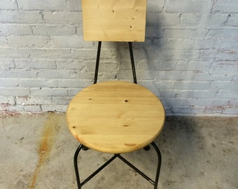Rustic Barstool, Chair, Kitchen Chair
