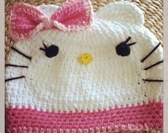 Crochet HK Pink Hat
