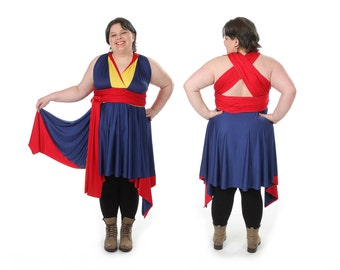 Marvelous Corps Convertible Dress