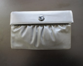 Harry Levine Vintage Gray Clutch