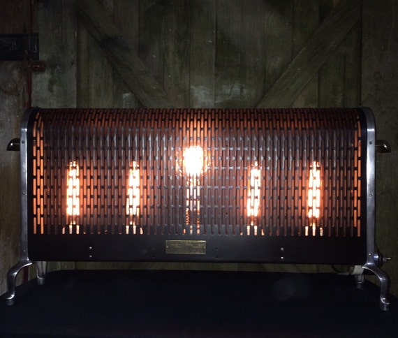 Repurposed Vintage Wesix 5 Core Floor Heater