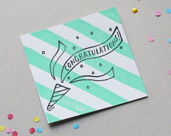 "Card ""Congratulations!"""