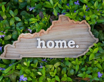 Kentucky home. Rough Cut Mill Wood Wall Hanging