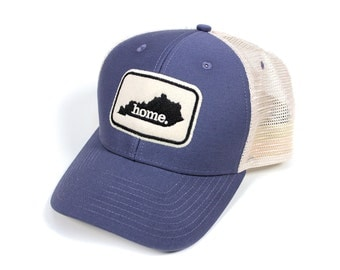 Kentucky Home State Apparel Hat: Ouray Soft Mesh Cap in Indigo