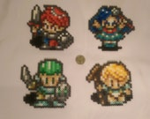 Lufia Party - Lufia and the Fortress of Doom - Perler Bead Sprite