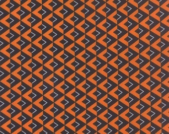 Halloween Chevrons on the Side from the Midnight Masquerade Collection by Debbie Strain for Moda