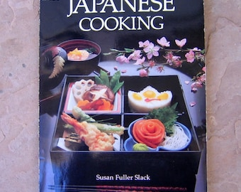 Japanese Cooking by Susan Fuller Slack, vintage cookbook, HPBooks Japanese Cooking Cookbook