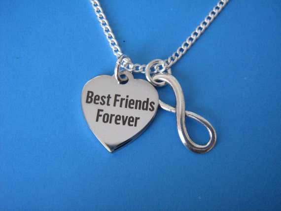 best friends necklace best friends forever by forgetmenotgrove