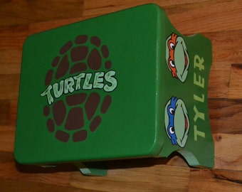 Tmnt For Girls Round Foot Stool Step Stool