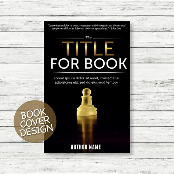 Book cover design / ebook cover / kindle cover / cover design for print / business and money book cover + matching back cover + spine design