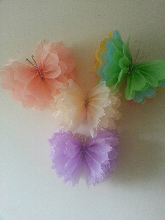 Single Hanging Ceiling Wall Tissue Paper Pom Pom