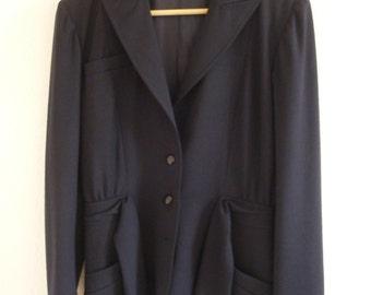 VALENTINO navy blue jacket
