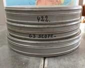 Set of 3 Vintage 35mm Film Canisters