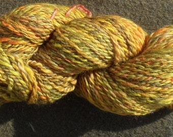 """Handspun yarn - """"Alley"""", 110 g, 130 m 2 ply - Merino"""