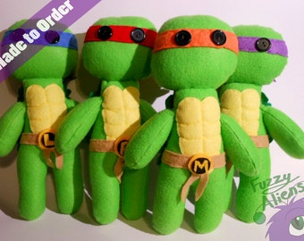 Teenage Mutant Ninja Turtles Plush -All Turtles Available-