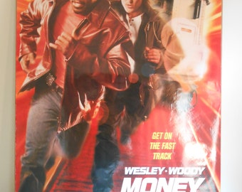 Money Train (1995) Original 2 Sided Movie Poster Wesley Snipes Woody Harrelson 27x40