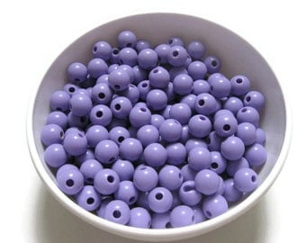 12mm Purple Bubblegum Beads, Gumball Beads, Chunky Beads, Acrylic Beads, 20mm Beads, 20mm Chunky Beads, Resin Beads, Chunky Necklace