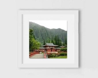 Byodo-In Temple | Hawaiian Photography | Buddhist Temple Print