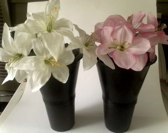 Vintage 1964 Floralware Containers (2)