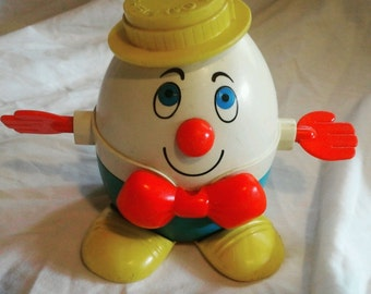 Pre-Loved 1960's/70's Fisher Price Humpty Dumpty