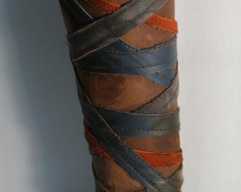 Wrapped bracer